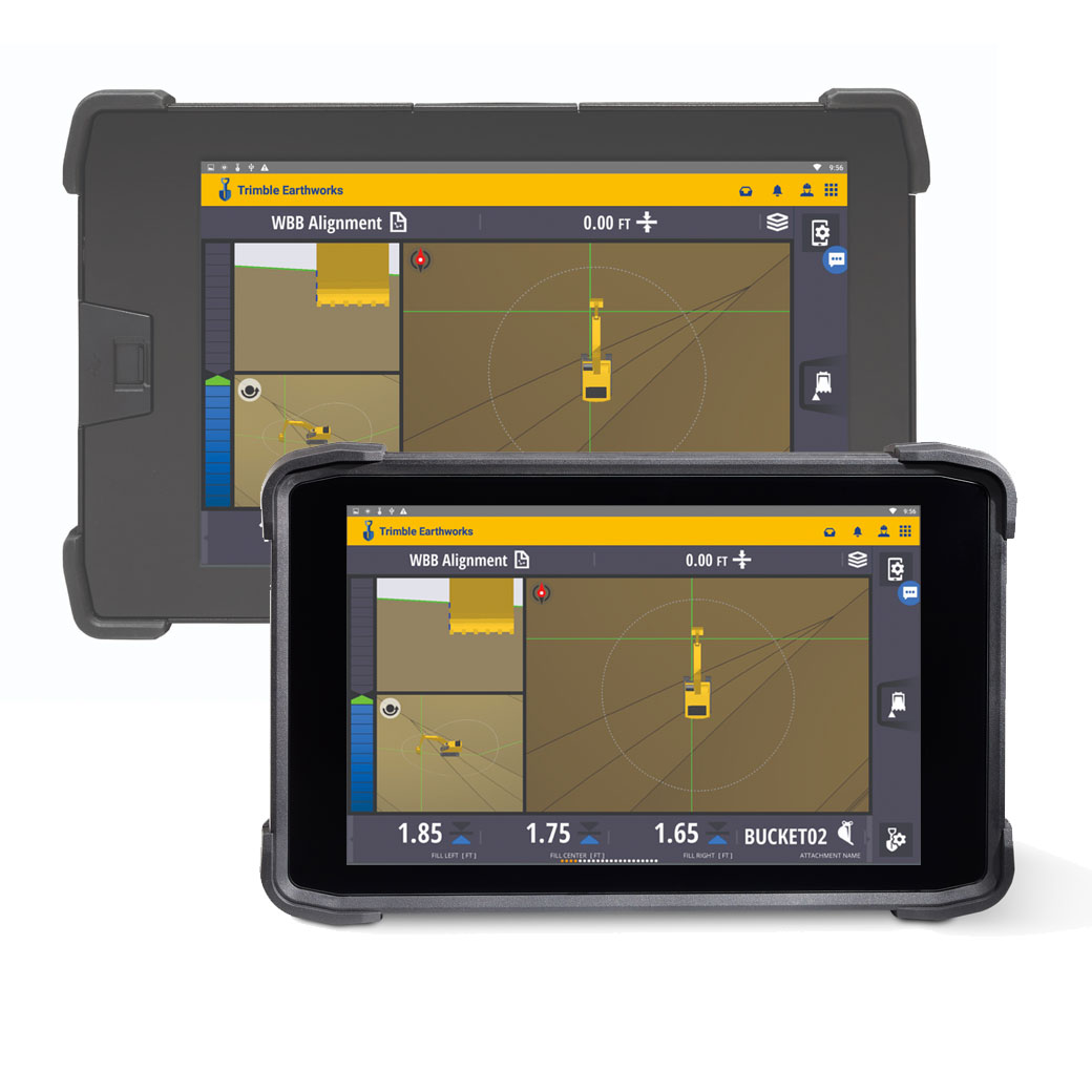 Trimble TD510 and TD520 displays
